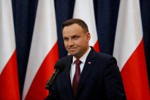 Lenkijos prezidentas apkaltino ES melu
