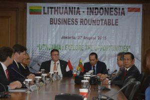 Indonezijoje pristatytas Lietuvos verslo potencialas