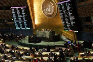 Netikėtas Lietuvos balsavimas dėl Jeruzalės: prieš D. Trumpą, kartu su ES