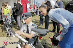 Policija žymės vertingus vilniečių daiktus