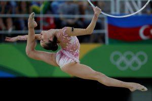 Vilniuje žibės meninės gimnastikos žvaigždės