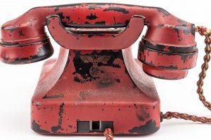 JAV aukcione parduodamas A. Hitlerio telefonas