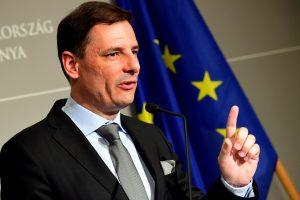 Vengrija pradėjo kampaniją prieš Europos Sąjungos politiką