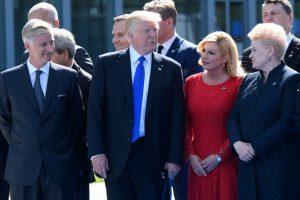 D. Trumpas Baltijos šalių prezidentus priims balandį