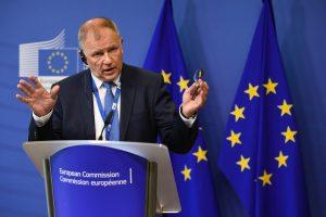 Lietuvoje lankosi eurokomisaras V. Andriukaitis