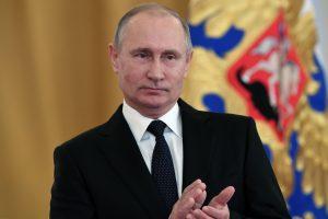 V. Putinas pareiškė visai negalvojantis apie įsiamžinimą istorijoje