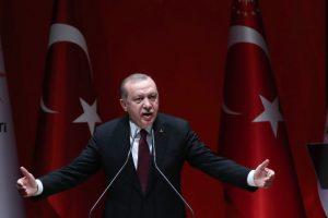 R. T. Erdoganas: Turkija nesiekia aneksuoti Sirijos dalies