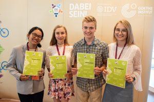 Vilniaus licėjaus mokinė – Tarptautinės vokiečių kalbos olimpiados nugalėtoja