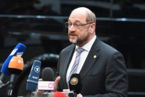 Vokietijos socialdemokratų lyderis M. Schulzas ruošiasi palikti partijos vadovo postą