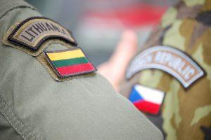 Į Lietuvą atvyksta apie 150 Čekijos karių