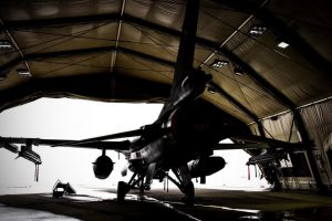 Pirmoji metų savaitė NATO oro policijos naikintuvams buvo rami