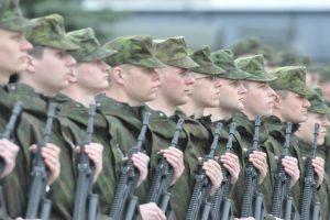 Nauja JAV karių rotacija į Lietuvą atvyks su tankais ir šarvuočiais