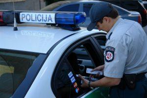 Kelių policija atskleidė naujoves, kurias taikys nuo Naujųjų metų