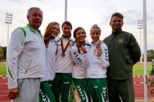 Penkiakovininkėms – kariškių pasaulio čempionato sidabras