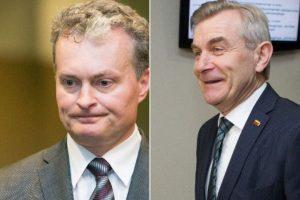 Seimo vadovas teigia juokavęs dėl G. Nausėdos keliamos grėsmės saugumui