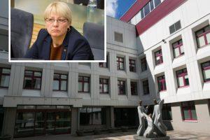 Etikos sargai: per vizitą Santaros klinikose A. Kubilienė nepadarė pažeidimų