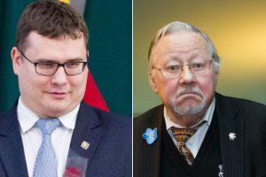 V. Landsbergis siūlo L. Kasčiūną mesti iš partijos (narystė sustabdyta metams)