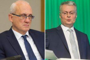 G. Landsbergis: krizės tyrimas – asmeninė S. Jakeliūno kova prieš G. Nausėdą