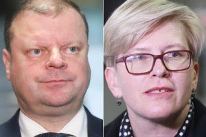Intriga: kas prasibraus į antrą rinkimų turą – S. Skvernelis ar I. Šimonytė?