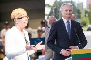 Politologai: I. Šimonytė prezidento rinkimuose gali mesti iššūkį G. Nausėdai