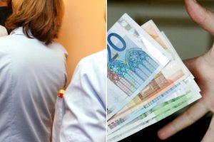 Medikai: 2 200 eurų atlyginimas išnaikintų korupciją