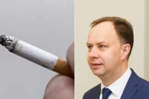 A. Veryga ragina neskirstyti rūkalų į labiau ar mažiau kenksmingus