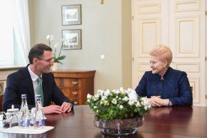 E. Jankevičius paskirtas teisingumo ministru