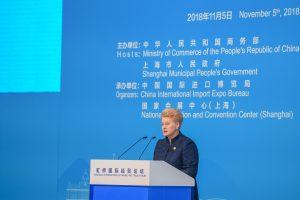 D. Grybauskaitė ragina Kiniją sukurti palankesnę investicinę aplinką ES verslui