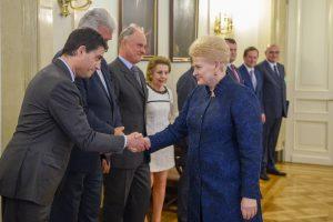 Susitikime su ES šalių ambasadoriais – dėmesys Europos saugumui