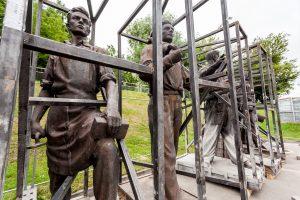 Žaliojo tilto skulptūrų likimas – dar neaiškus