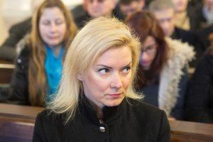 Prokuratūra atšaukė skundą V. Vonžutaitės byloje