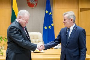 V. Pranckietis: susitikimai su ambasadoriais – proga priminti apie Sausio 13-ąją