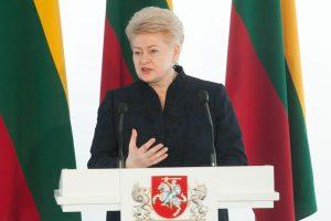 Prezidentė Hagoje susitiks su Baltijos, Šiaurės ir Beniliukso šalių vadovais