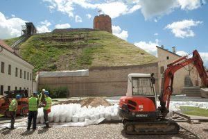 Geologai stebisi, jog Gedimino kalnas tvarkomas be būtinų tyrimų