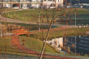 Dėl Vilniaus Ozo parko sklypų – taikos sutartis