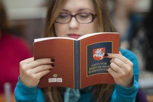 Konstitucijos egzaminą išlaikė du klaipėdiečiai