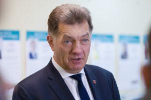 A. Butkevičius sako pasiūlęs S. Skverneliui kandidatą į teisingumo ministrus