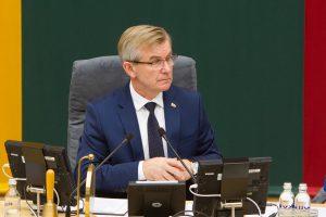 Seimo pirmininkas: parolimpiečių diskriminacijos neturi likti
