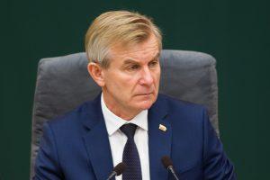 Seimo pirmininkas: R. Valentukevičius sumenkino VTEK autoritetą