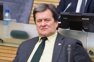 R. Andrikis tapo LRT veiklą tiriančios komisijos pirmininko pavaduotoju
