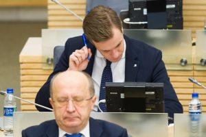 Derybos dėl opozicijos lyderio nejuda iš vietos