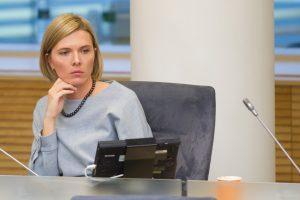 A. Bilotaitė atsiima kandidatūrą į konservatorių partijos pirmininkus