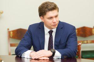 Ūkio ministras žada didinti valstybės įmonių efektyvumą