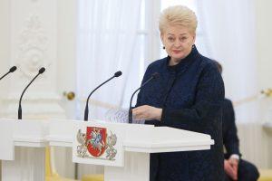 D. Grybauskaitė su kitų šalių vadovais pasirašys Romos deklaraciją dėl ES ateities