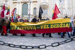 Sostinės valdžia nepalaimino tautininkų eitynių vasario 16-ąją