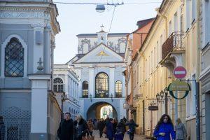 Vilnius pernai pritraukė neregėtą turistų srautą