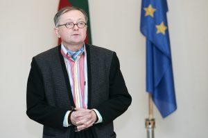 Kovą dėl galimybės vadovauti Kalbos komisijai laimėjo A. Antanaitis