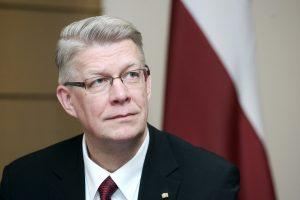 Buvęs Latvijos prezidentas: reali grėsmė buvo prieš dvejus metus (interviu)