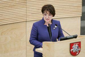 Konservatorė V. Aleknaitė-Abramikienė perrinkta ESBO PA viceprezidente
