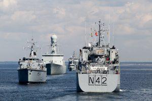 Uostamiestis sulauks daug užsienio karo laivų